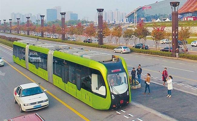 Tinuku Zhuzhou rail bus