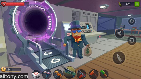 تنزيل لعبة Pixel Combat: Zombies Strike للأيفون والأندرويد APK