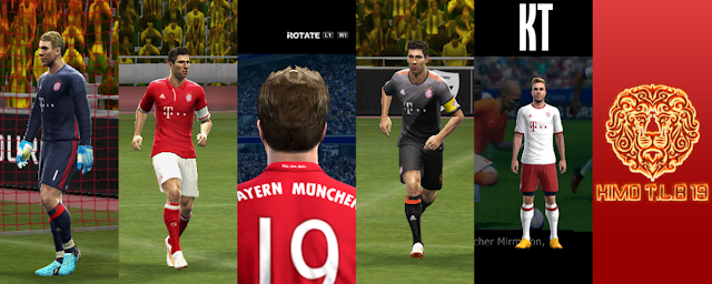PES 2013 Bayern Munchen Kit Season 2016/17