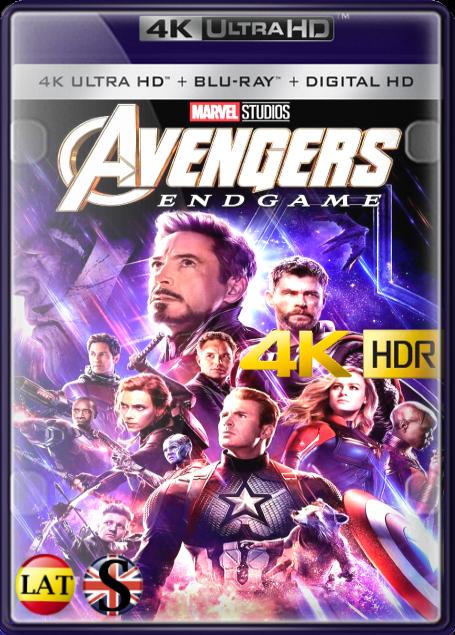 Vengadores: Endgame (2019) 4K UHD HDR LATINO/INGLES