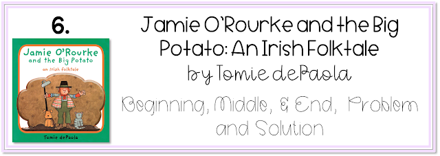 Jamie O'Rourke and the Big Potato by Tomie dePaola