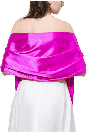 Best Satin Shawls Wraps Scarfs for Evening Dresses