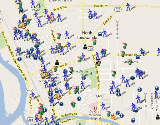 Maps Multiple Stops >> SpotCrime - The Public's Crime Map: January 2012