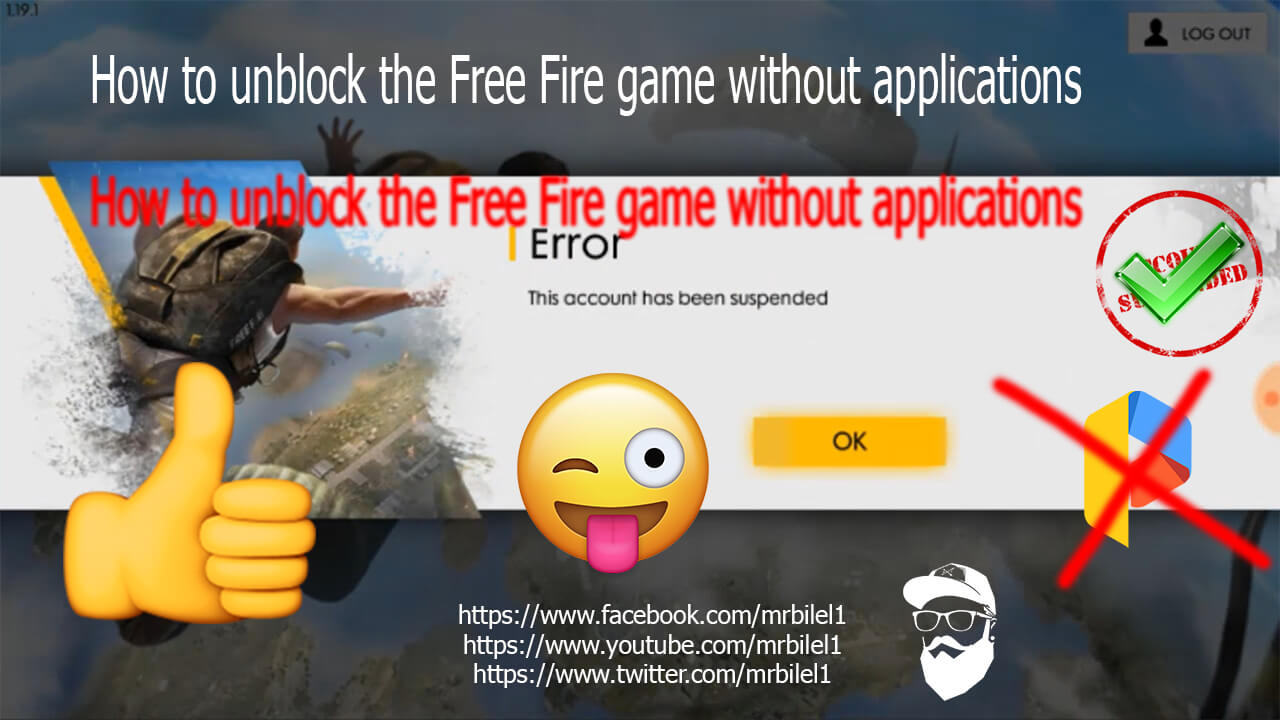Free Fire Fix This Account Has Been Suspended