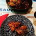 Pollo asado al estilo jordano con salsa de granada - Cocinas del Mundo (Jordania)