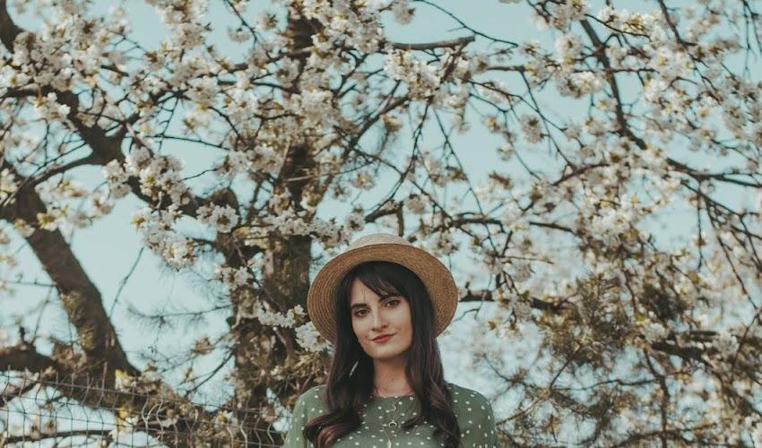 Sukienka w kropki - wiosenna STYLIZACJA DNIA
