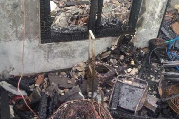 percetakan di luragung kebakaran