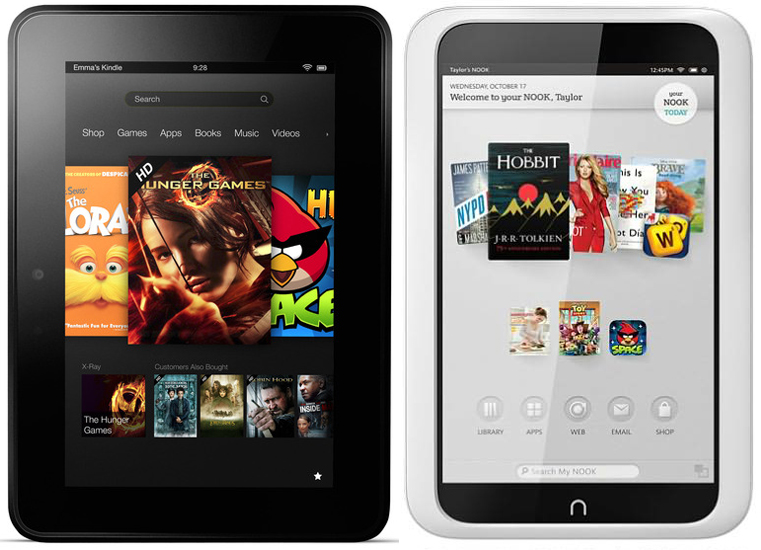 Kindle Vs Sony Reader: Kindle Fire HD VS Nook HD: A Competition Between 7
