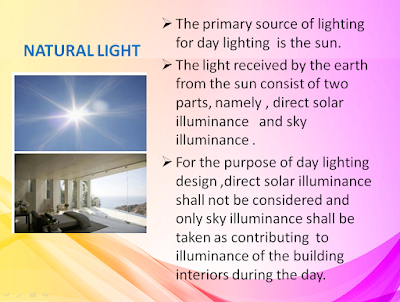 NATURAL LIGHTING, LIGHTING BUILDING SERVICE