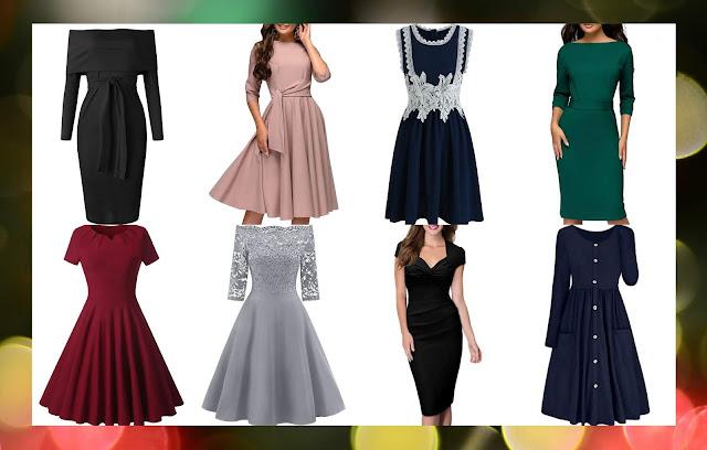 rosegal Eleganckie Sukienki na wigilię i świeta
