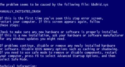 اسباب ظهور مشكلة الشاشة الزرقاء في ويندوز