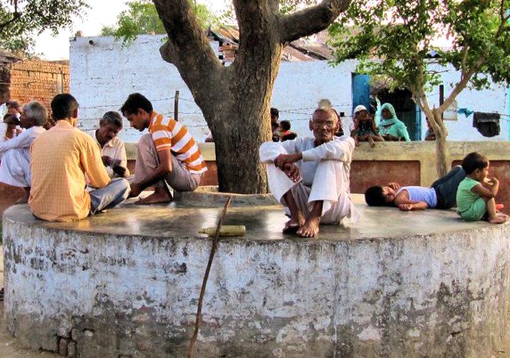 village-scene-in-india