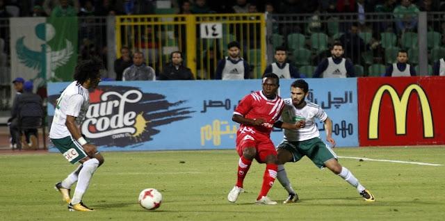 فوز المصري البورسعيدي في دور المجموعات في الكنفدرالية
