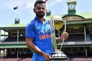 Icc world cup trophy/cricket world cup trophy-virat-kohli