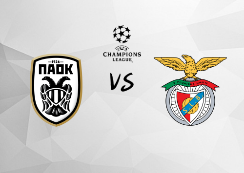 PAOK vs Benfica  Resumen