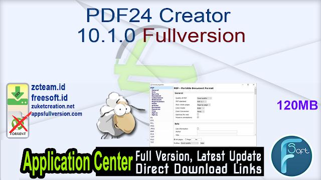 PDF24 Creator 10.1.0 Fullversion