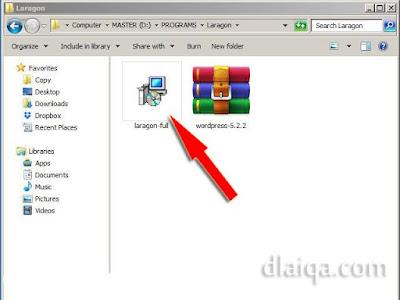eksekusi file installer