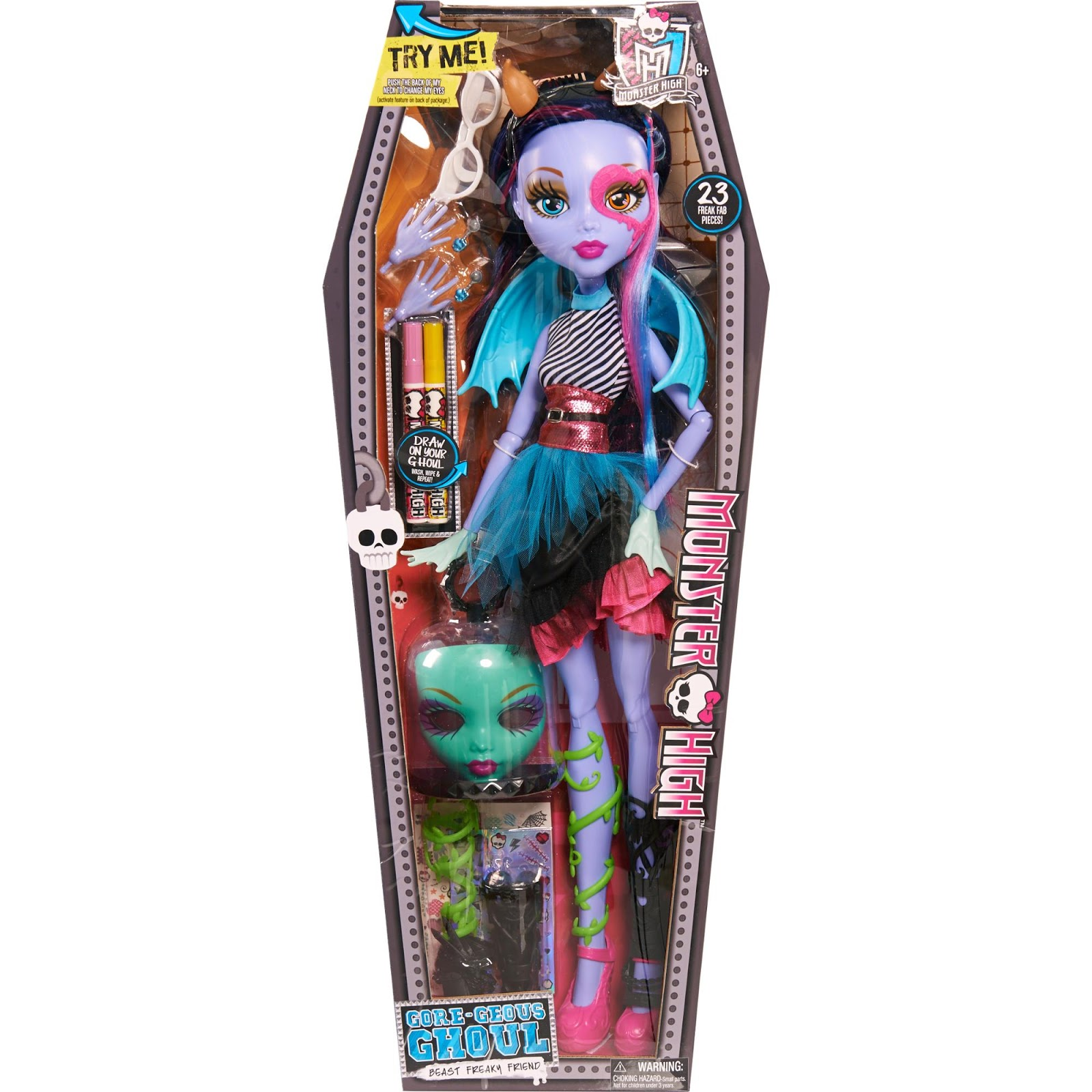 Jamie S Toy Blog Monster High Gore Geous Ghoul 28 Inch Doll