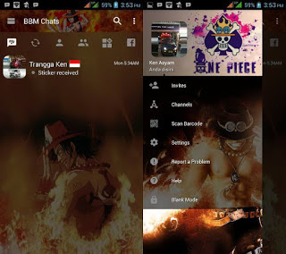Download BBM Mod One Piece Apk 3.3.3.39 Terbaru