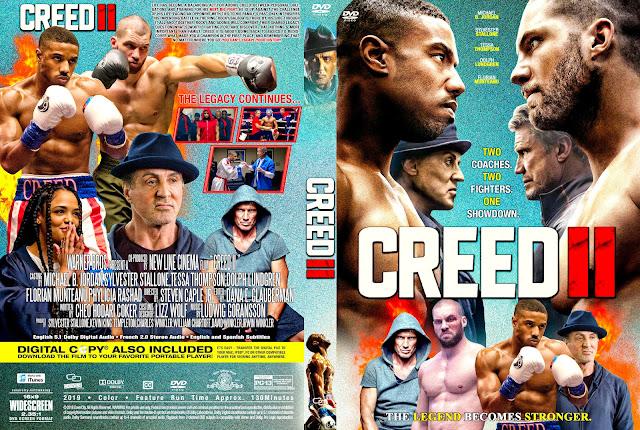 Creed II DVD Cover