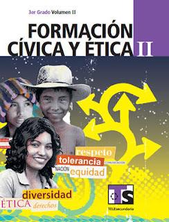 Libro de TelesecundariaFormación Cívica y ÉticaIITercer gradoVolumen IILibro para el Alumno2016-2017