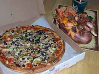 Pizza Pie, ready-to-eat!