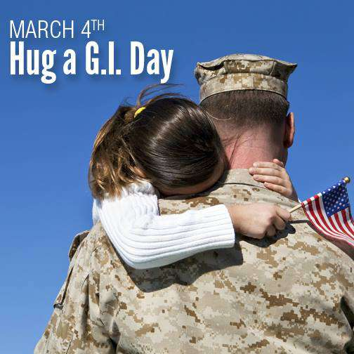 National Hug a G.I. Day Wishes Images