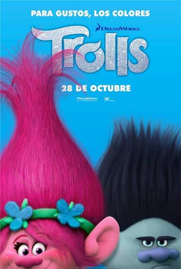 Trolls (2016) DVDRip Español Latino