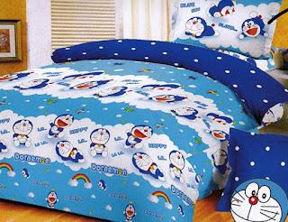 Contoh Seprei Motif Doraemon - Kamar Anak 200166