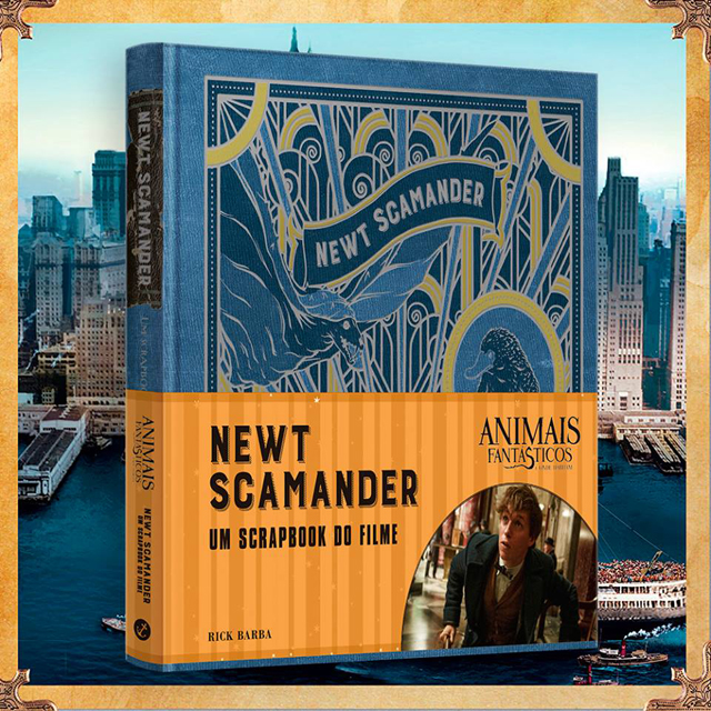 Vem aí - Newt Scamander: Um scrapbook do filme