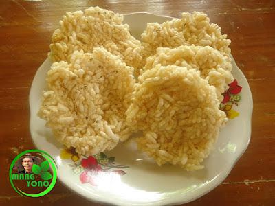 Kue Ranginang / Rengginang sudah digoreng