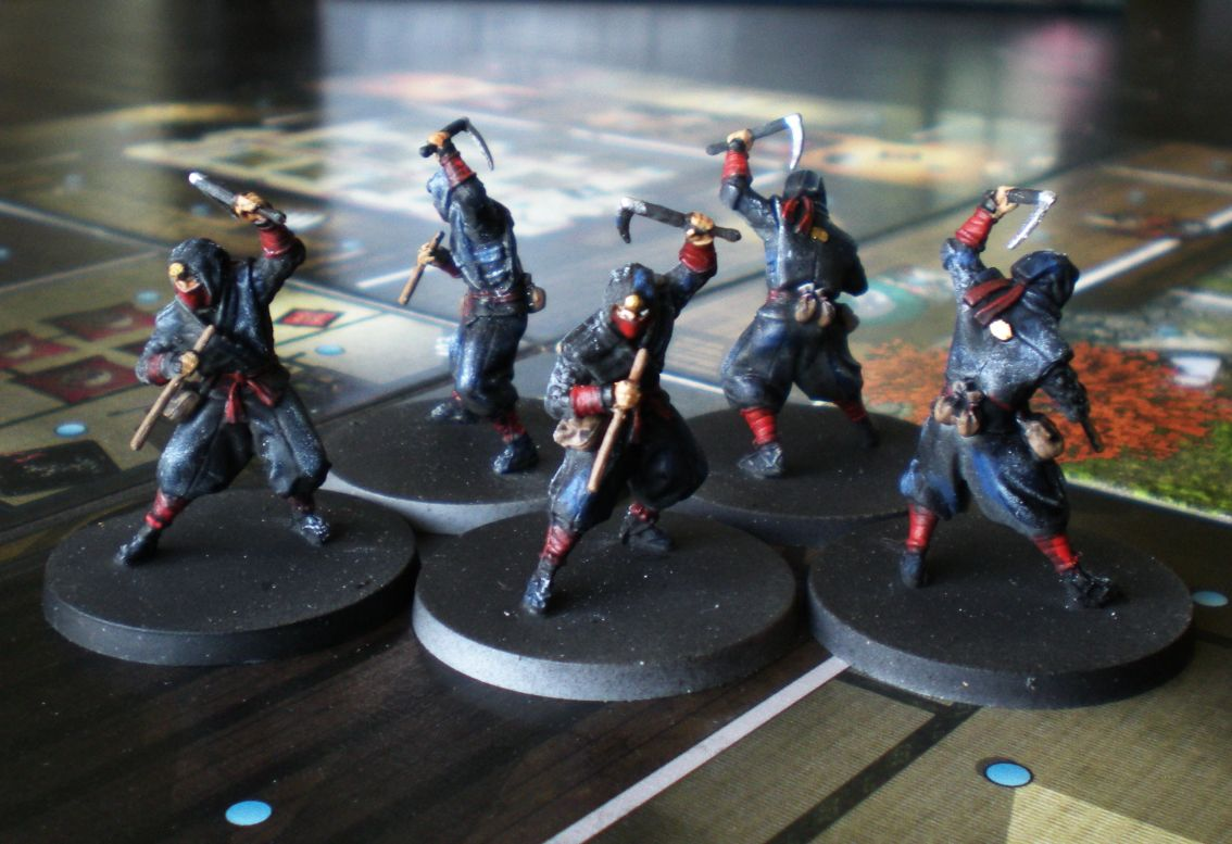 Les samouraïs de Bawon-sama - Page 2 Ninjas