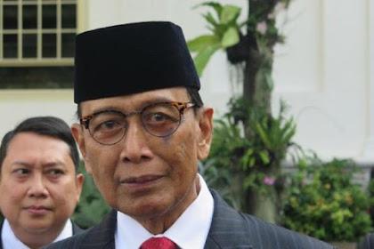 Wiranto Akhirnya Kebagian Jatah, Ketua Wantimpres 2019-2024