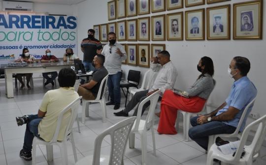 CICLISMO NO OESTE: Projeto Meia Pista do Barrocão é apresentado à gestão Municipal de Barreiras