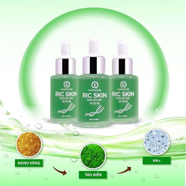 Hướng dẫn cách mua Serum Ric Skin giá gốc tại shop.