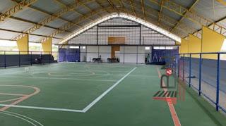 Em Picuí, ginásio do Lajedo Grande em fase de conclusão