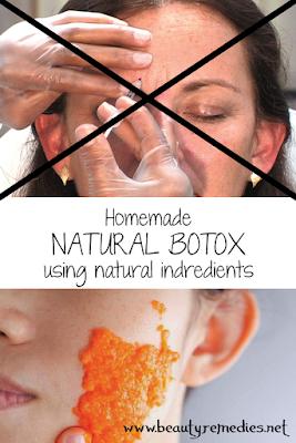 Homemade NATURAL BOTOX using natural indredients