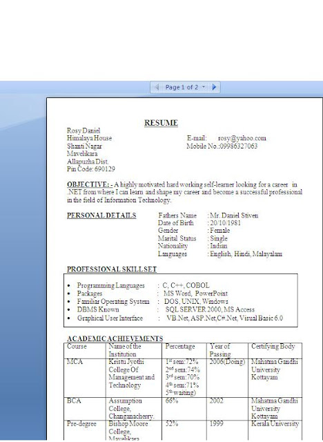 biodata format for marriage free download curriculumvitaes