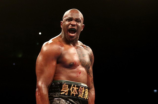 Dillian Whyte WBC Heavyweight Interim champion