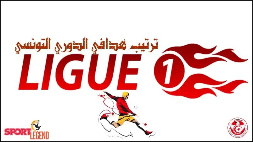 ترتيب هدافي الدوري التونسي قبل الجولة السابعة عشرة