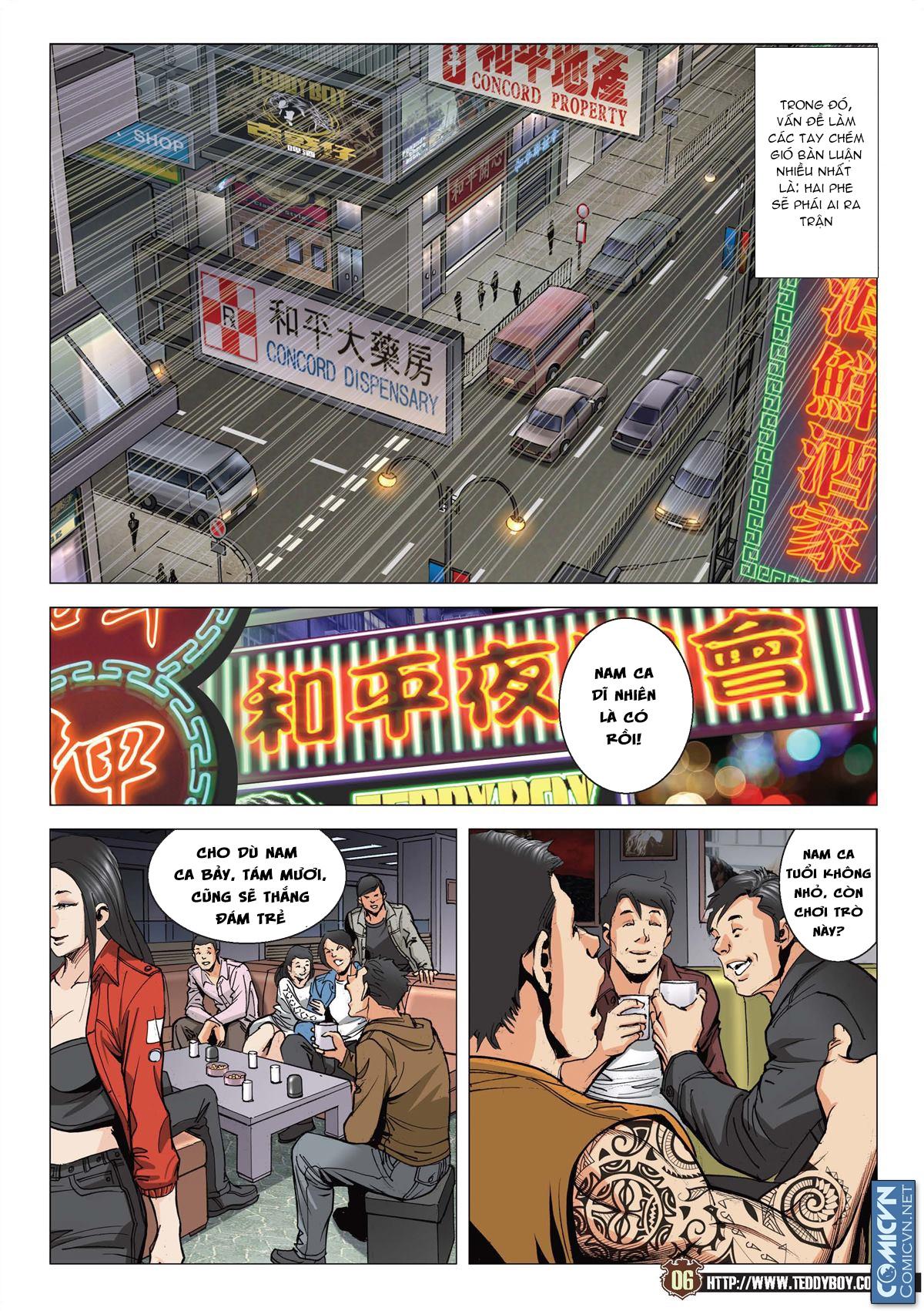 Người Trong Giang Hồ chapter 2113: cự tinh chi chiến trang 4