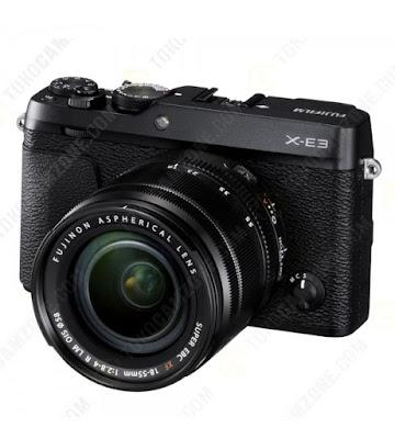 Fujifilm X-E3ミラーレスデジタルカメラファームウェアのダウンロード