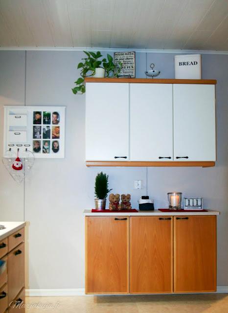joulu asetelma sisustus keittiö
