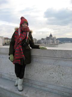 DIY costura: El gorro y la bufanda que me abrigaron en Budapest (Parlamento)