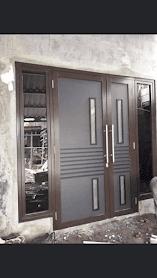 Bahan bahan pintu aluminium