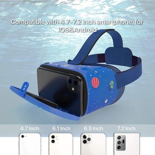 DESTEK HD Virtual Reality VR Headset for Kids
