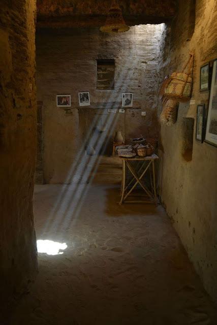 الفن المعماري القديم - من قرية القصر الاسلامية بالواحات الداخلة ، محافظة الوادي الجديد