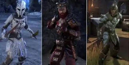 Elder Scrolls Online,Armor Sets For Templars,