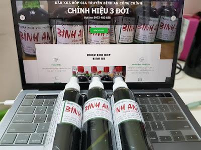 [COMBO FREESHIP] 10 Chai Dầu Xoa Bóp Bình An 135ml