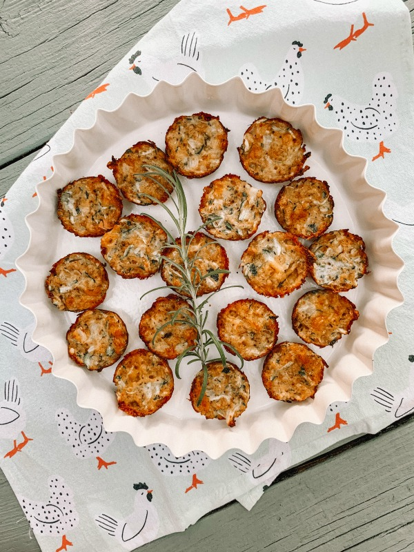 Oven Baked Zucchini Tots